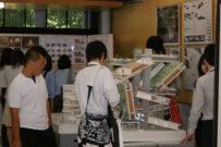 昨年度のオープンキャンパスの様子(模型展示)