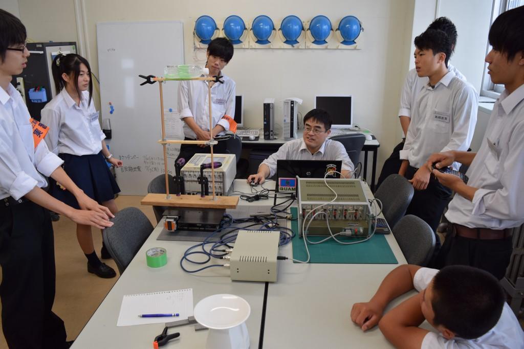 仙台工業高校インターンシップ2015_5