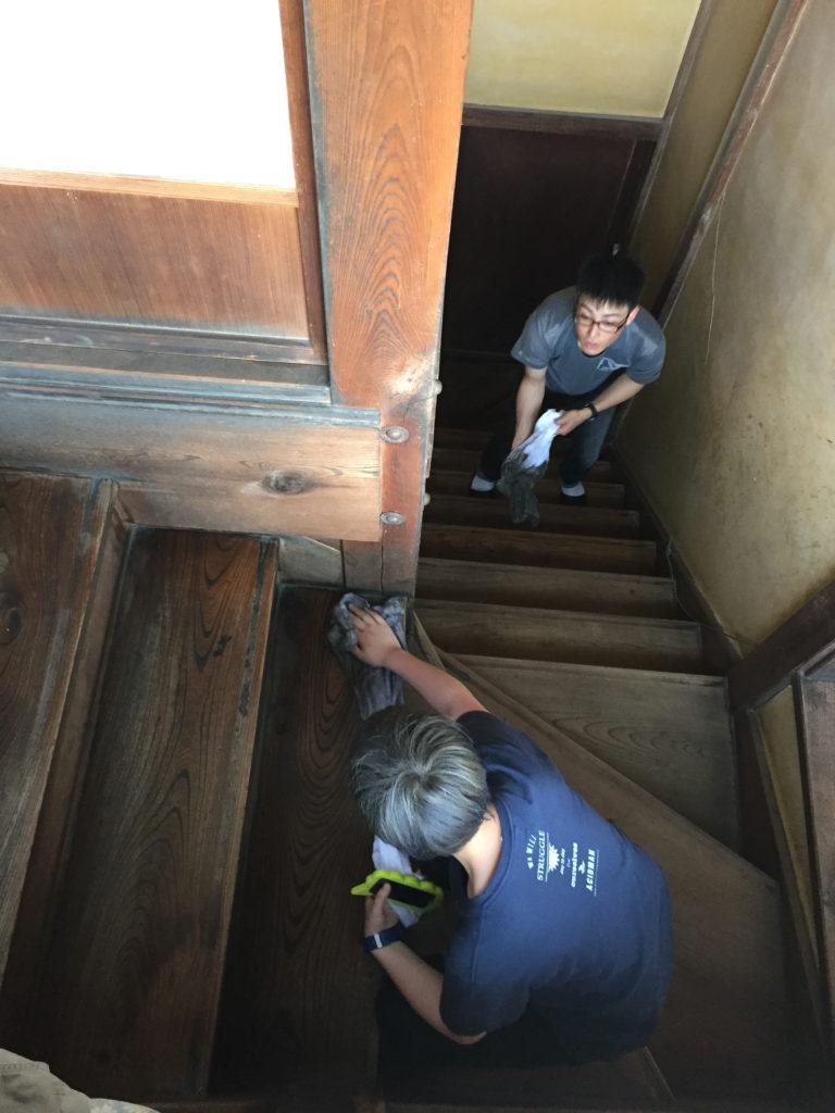 旧真壁家掃除風景3