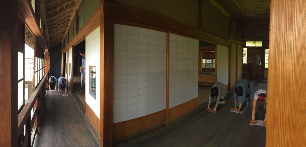 旧真壁家掃除風景4
